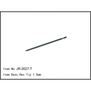 JR-0027-T  Hex Tip 1.5mm