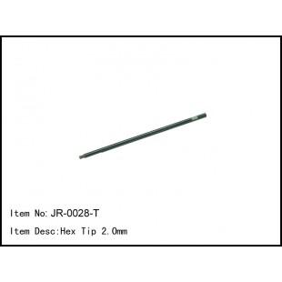 JR-0028-T Hex Tip 2.0mm