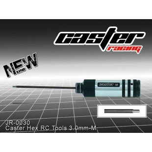 JR-0030  Caster Hex RC Tools 3.0mm -M