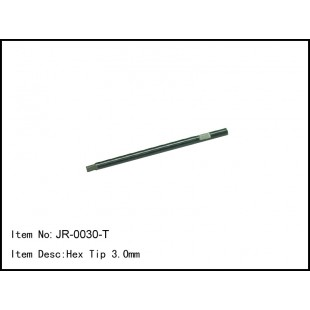 JR-0030-T  Hex Tip 3.0mm