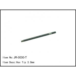 JR-0030-T  Hex Tip 3.0mm