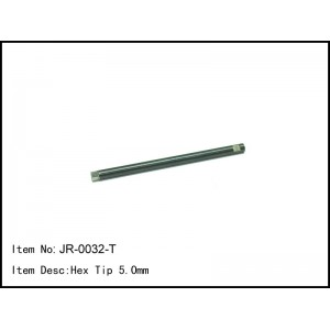 JR-0032-T  Hex Tip 5.0mm