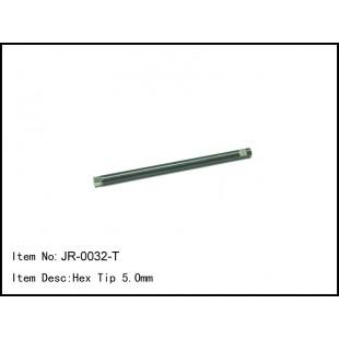 JR-0032-T  Hex Tip 5.0mm