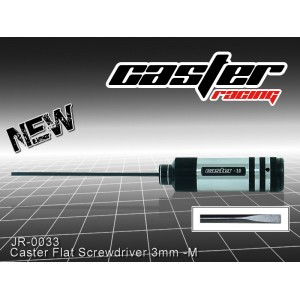 JR-0033  Caster Flat Screwdriver 3mm -M