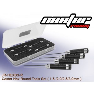 JR-HEXBS-R  Caster Hex Round Tools Set ( 1.5 /2.0/2.5/3.0mm )
