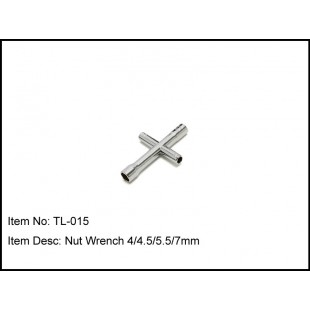 TL-015  Nut Wrench 4/4.5/5.5/7