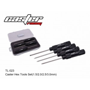 TL-023  Caster Hex Tools Set ( 1.5 /2.0/2.5/3.0mm )