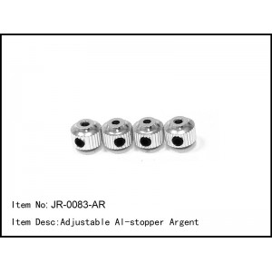 JR-0083-AR  Adjustable Al-stopper Argent