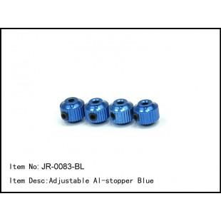 JR-0083-BL  Adjustable Al-stopper Blue