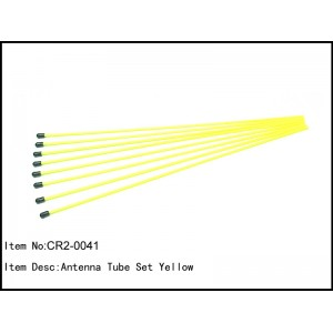 CR2-0041  Antenna Tube Set Yellow