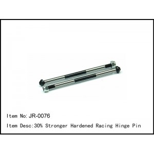 JR-0076  30% Stronger Hardened Racing Hinge Pin