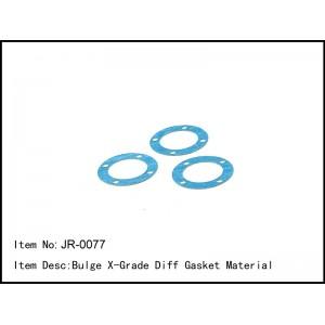 JR-0077  Bulge X-Grade Diff Gasket Material
