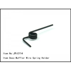 JR-0114  Muffler Wire Spring Holder