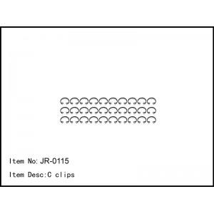 JR-0115  C clips