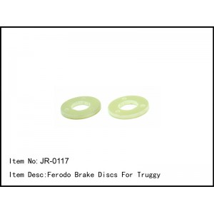 JR-0117  Ferodo Brake Discs For Truggy