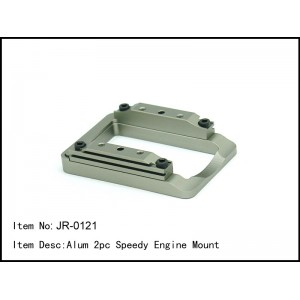 JR-0121  Alum 2pc Speedy Engine Mount