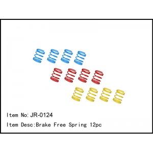 JR-0124  Brake Free Spring 12pc