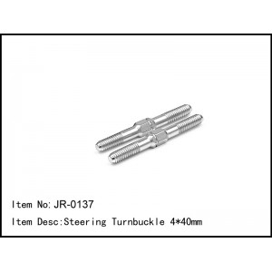 JR-0137  Steering Turnbuckle 4*40mm