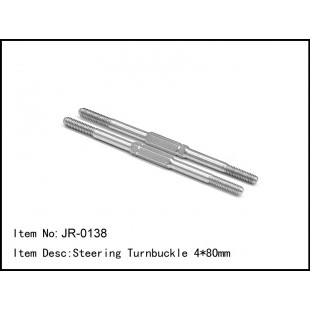 JR-0138  Steering Turnbuckle 4*80mm
