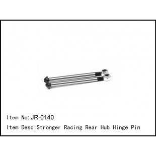 JR-0140  Stronger Racing Rear Hub Hinge Pin