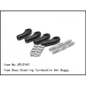 JR-0141  Steering Turnbuckle Set Buggy
