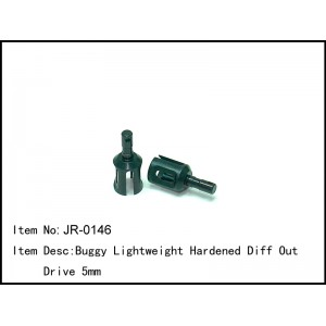 JR-0146  Buggy Lightweight Hardened Diff Out Drive 5mm