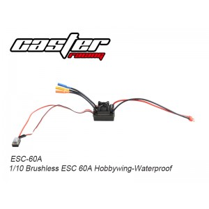 ESC-60A 1/10 1/10 Brushless ESC 60A Hobbywing-Waterproof